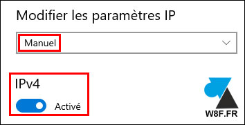 tutoriel définir adresse IP fixe Windows 10