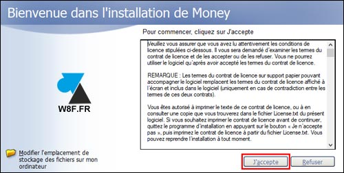 tutoriel installer Microsoft Money 2005 gratuit