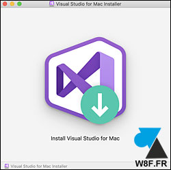 Visual Studio Mac macOS Mac OS X
