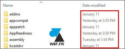 tutoriel Windows 10 explorateur format date affichage