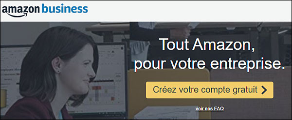 Amazon Business site professionnel