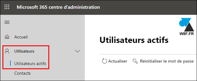 tutoriel Office 365 Exchange Online utilisateurs actifs active users