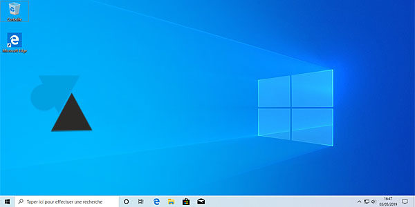 Installer Windows 10 version 1903 « May 2019 Update »
