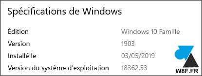 Windows 10 1903 May 2019 Update