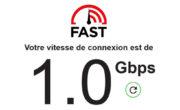 Tester la vitesse de connexion internet