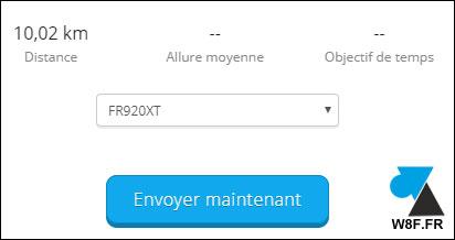 tutoriel Garmin importer fichier GPX montre