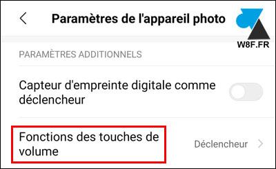 photo smartphone Xiaomi Mi touches volume