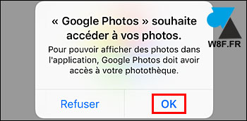tutoriel Google Photos iOS iPhone iPad