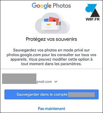 tutoriel sauvegarde automatique photo iPhone Google Photos iPad iOS