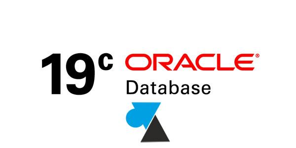 tutoriel Oracle 19c Oracle Database 19