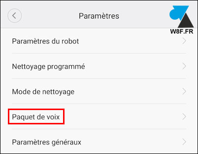 tutoriel Roborock aspirateur robot Xiaomi voix