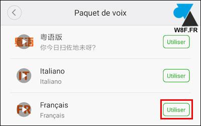 tutoriel Roborock voix aspirateur robot Xiaomi