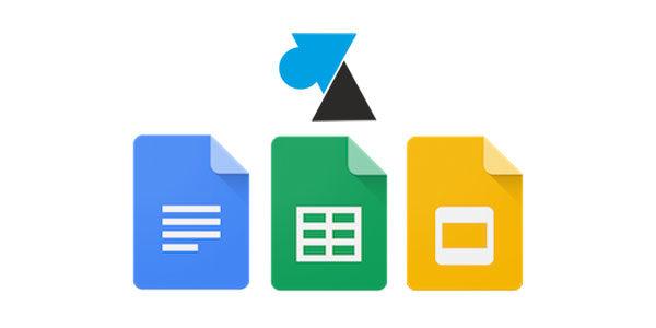 Google Docs : modifier l'orientation de la page