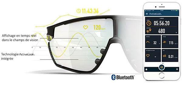 lunettes soleil connecté Julbo evad-1 evad1