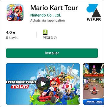 Mario Kart Tour jeu gratuit Android