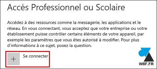 tutoriel Windows 10 Parametres joindre domaine AD