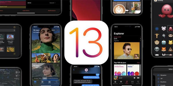 Nouveautés iOS13