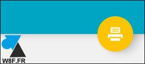 tutoriel Android Imprimer