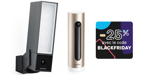 camera Netatmo Presence Welcome moins cher