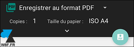 tutoriel Android Imprimante PDF