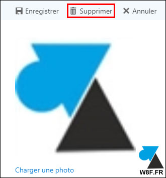 tuto modifier changer photo profil Office 365 avatar