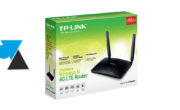 Configurer routeur 4G TP-Link TL-MR6400
