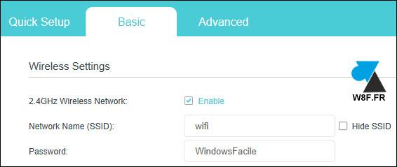 tutoriel wifi tp-link ssid
