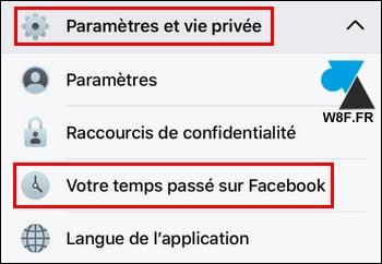 tutoriel Facebook Android temps passé