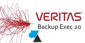 logo Veritas Backup Exec 20 2020 Symantec