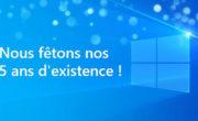 5 ans de Windows Insider