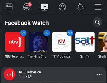facebook watch dark mode