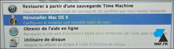 tutoriel réinstaller macOS Mac OS X francais