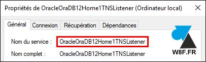 tutoriel service Oracle TNS Listener