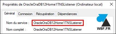 tutoriel service Oracle TNS Listener