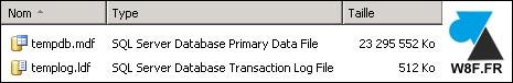 SQL Server tempdb templog big file