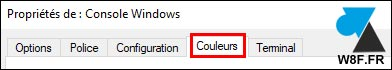 tutoriel cmd changer couleurs invite de commandes Windows