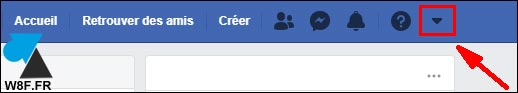 tutoriel Facebook menu configuration