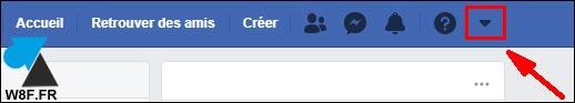tutoriel Facebook menu configuration