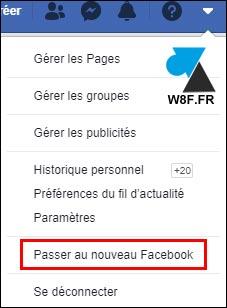 tutoriel Facebook 2020 nouveau design