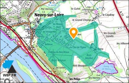 tutoriel geoportail carte