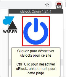 whitelist ublock origin