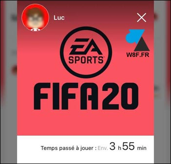 Nintendo Switch controle parental temps de jeu fifa