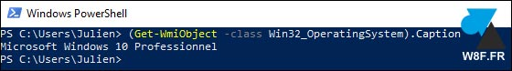 tutoriel Windows PowerShell version W10