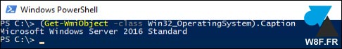 tutoriel Windows PowerShell version WS2016
