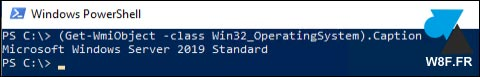 tutoriel Windows PowerShell version OS 2019