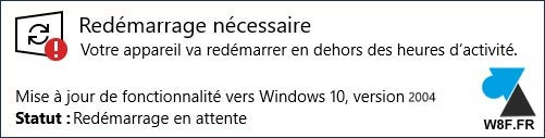 tutoriel telecharger Windows 10 2004 update mise à jour
