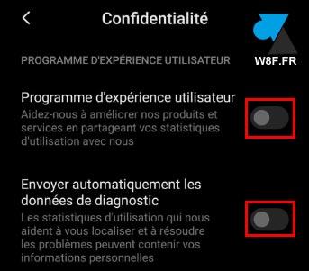 tutoriel Xiaomi paramètres desactiver expérience utilisateur