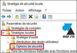 tutoriel Strategie securite locale secpol msc