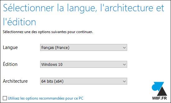 tutoriel Windows 10 telecharger ISO clé USB