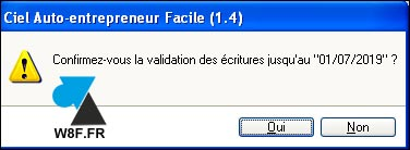 tutoriel Ciel compta traitement validation ecritures